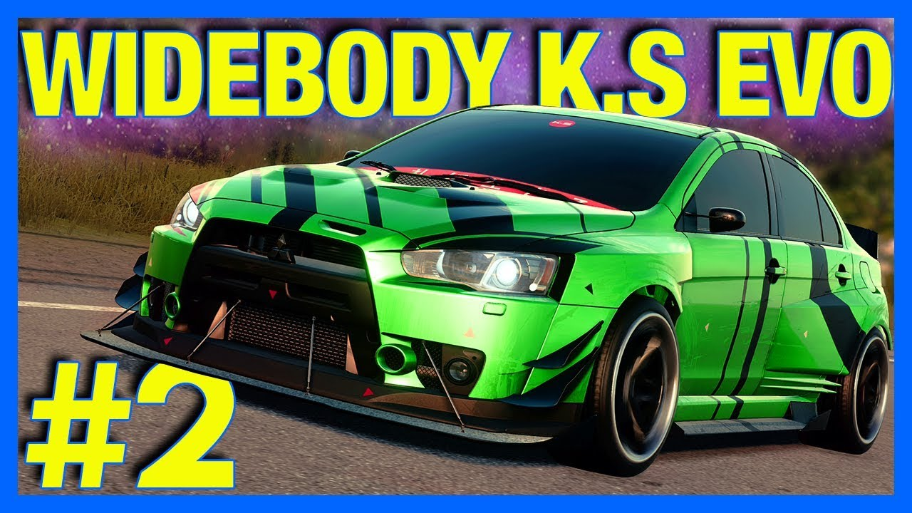 Need for Speed HEAT Let's Play : K.S Edition Mitsubishi Evo!! (Part 2)