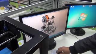 3D принтер Aurora(Демонстрация работы китайского 3D принтера стоимостью почти 800 долларов вместе с доставкой. Принтер http://www.tin..., 2014-03-19T06:01:19.000Z)