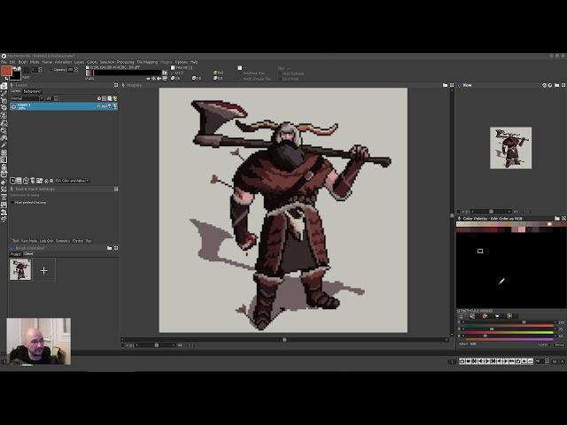 Pixel art critique and edits