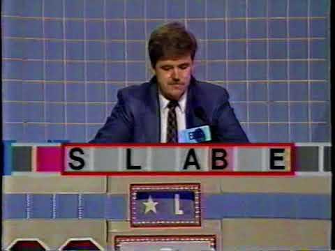 Scrabble 1989 TV Game  Eric Ogren episode 2 of 4