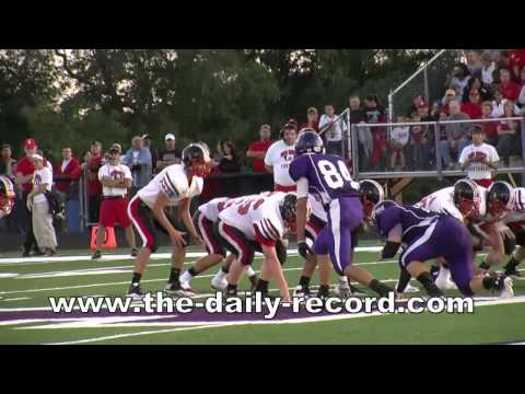 Triway-Orrville high school football action (nearly entire game)
