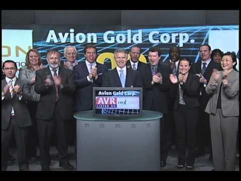 Avion Gold Corp. (AVR:TSX) Opens Toronto Stock Exchange, June 14, 2011.