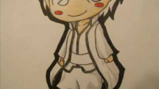 How to Draw Chibi Aizen