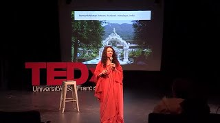 From Hollywood to Holy Woods | Sadhvi Bhagawati Saraswati | TEDxUniversityOfSanFrancisco