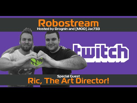Stream #5 with Ric, The Art Director