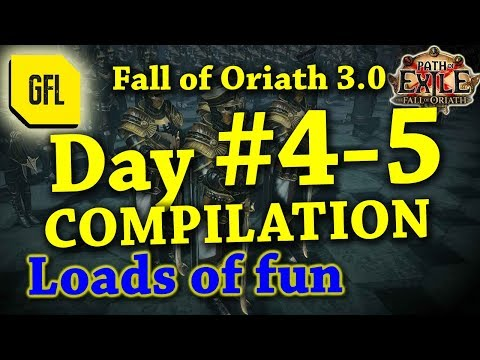 Path of Exile 3.0 Fall of Oriath: DAY #4-5 Compilation from Youtube and Twitch
