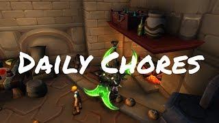 Daily Chores - Children