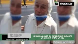 Declaraciones de hermana Sor Esperanza en la Francisco Fajardo