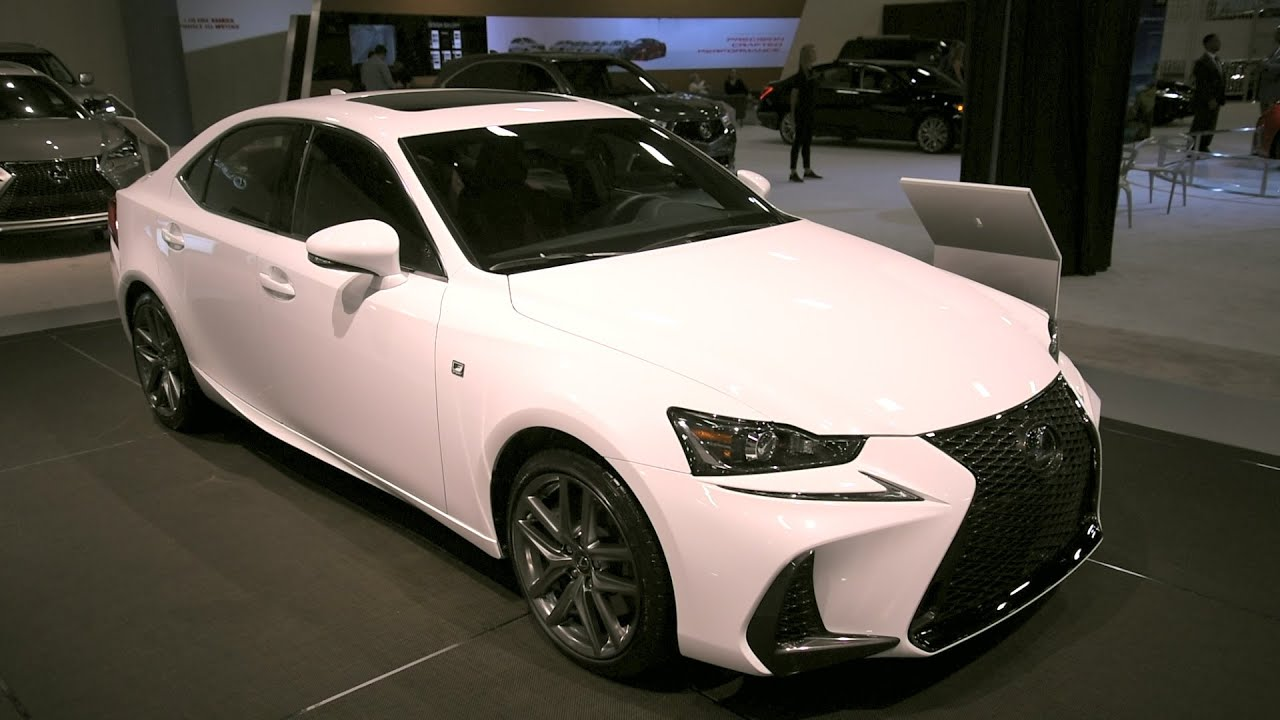 2017 Lexus Is 200t F Sport First Look 2016 Miami Auto Show