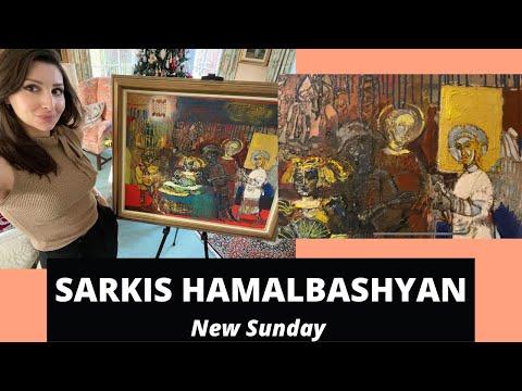 HAMALBASHYAN'S NEW SUNDAY: A Painting of Turmoil by an Armenian Artist