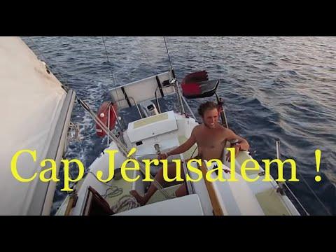 Jéru Inch'Allah - Toulon-Jérusalem, à deux sur un voilier de 7m