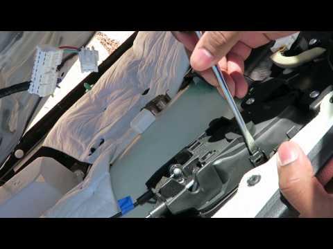 Replacing an interior door handle  (with door panel removal/Nissan) 🚗