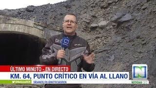 Vía al Llano: nuevo derrumbe quedó registrado en vivo / Noticias RCN