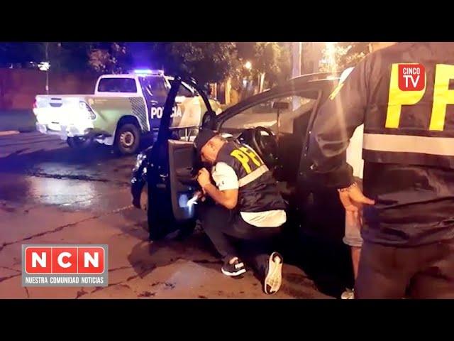 CINCO TV - Secuestraron vehículos y detuvieron por drogas a tres personas en San Fernando