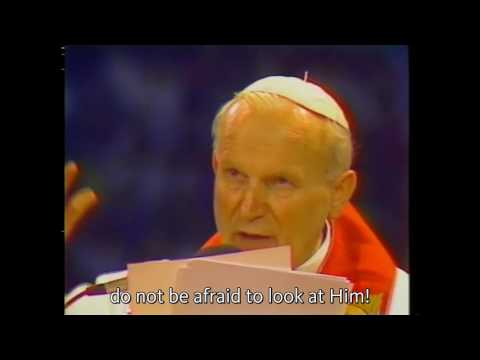 The Capuchin Vocation with Pope Saint John Paul II