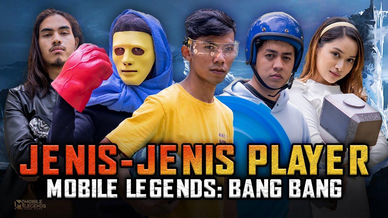 Jenis Jenis Player Mobile Legends : Bang Bang