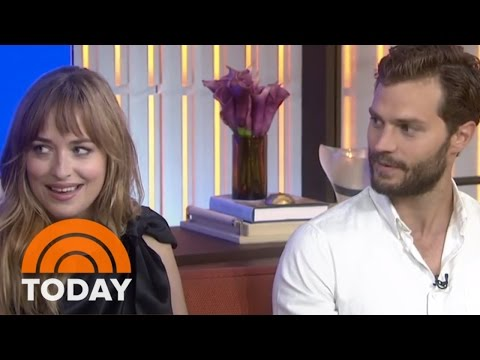 Fifty Shades' Jamie Dornan Open To Shirtless Interview | TODAY
