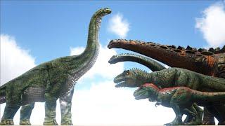 Brachiosaurus VS ARK Dinosaurs   Cantex