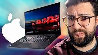 """¡El Oscuro rival del Macbook...! Thinkpad X1 Extreme vs Macbook Pro 15"""""""