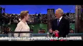 New Holiday Toys in Late Show with David Letterman December 19, 2012