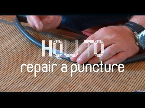 How To Repair A Puncture On A Road Bike