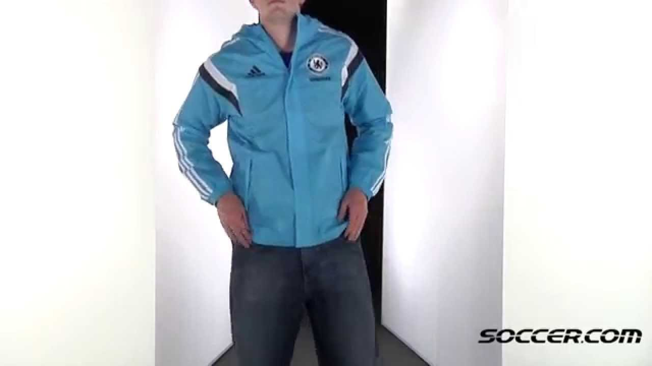 adidas Chelsea All Weather Jacket 14/15 64979 - YouTube