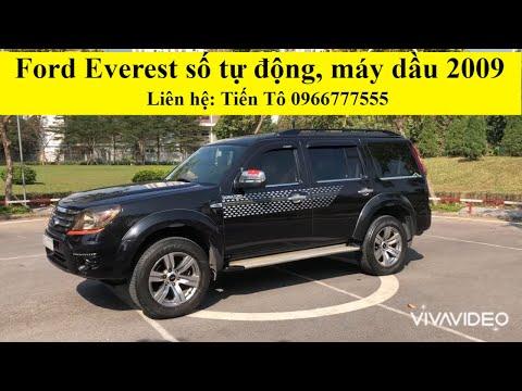 Năm mới giá xe rẻ hơn. Ford Everest 2009 model 2010, máy dầu số tự động. Máy, số, keo chỉ zin nguyên