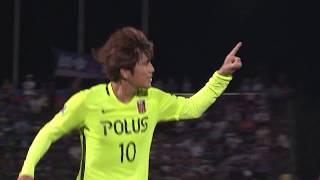 2017年8月9日(水)に行われた明治安田生命J1リーグ 第21節 甲府vs浦...