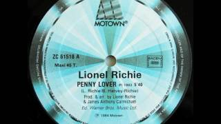 LIONEL RICHIE PENNY LOVER 1983