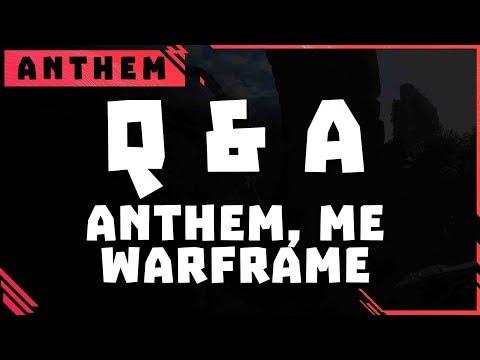 **Trigger Warning** Me, Warframe, Anthem, Developers Throwing shade [Q & A Ep: 1] thumbnail