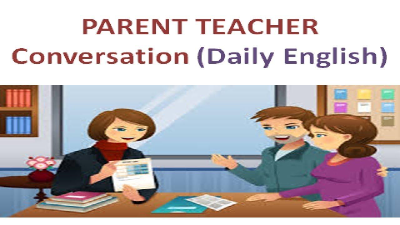 Daily English Conversation in Parent Teacher Meeting ...