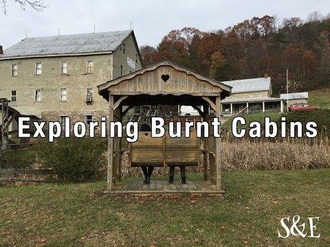 Exploring Burnt Cabins, PA