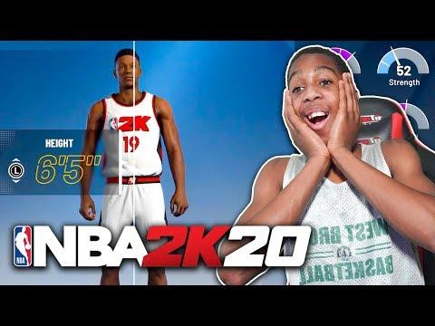 KID STARTS NEW NBA CAREER NBA 2K20 |
