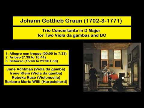 Johann Friedrich Fasch (1688-1758) - Concerto A 7 In C Minor For 2 Oboes (FWVL-c2)