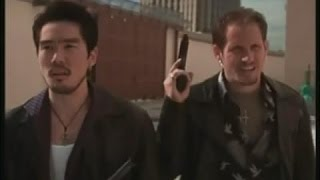 "Thom Mathews Scenes in ""Mean Guns"" (1997)"