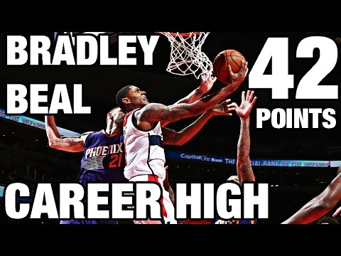 Bradley Beal Scores Career High 42 in Win l 11.21.16