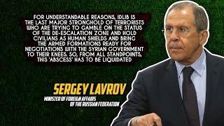 30 августа 2018.Военная обстановка в Сирии. Лавров призвал ликвидировать «гнойник» боевиков в Идлибе