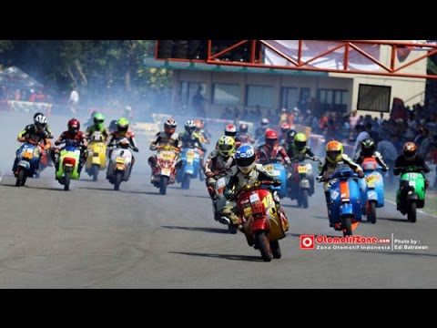 (VBI) Vespa Balap Indonesia Grand Prix 2015 - Grand Final FULL