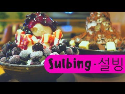 Sulbing (설빙): Eating our favorite Korean Dessert in Seoul, Korea - Bingsu (빙수) Korean shaved ice