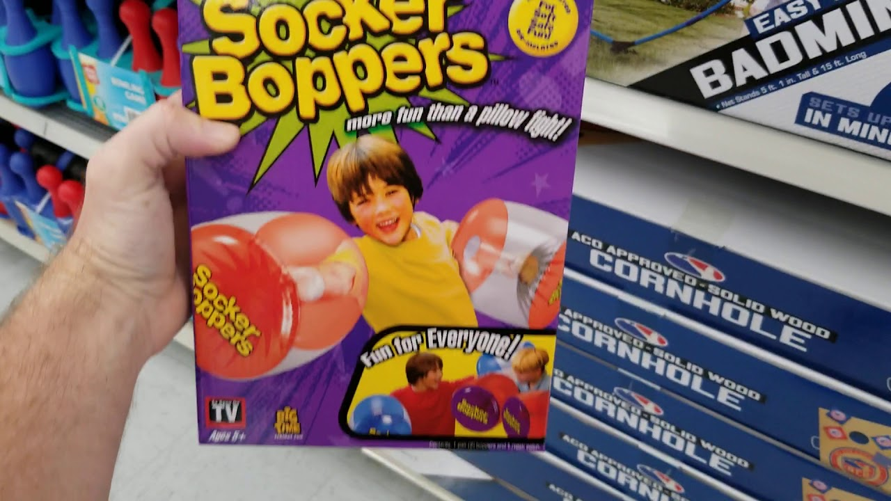 Socker Boppers--what could possibly go wrong?