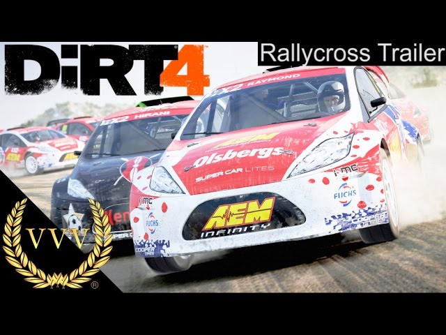 DiRT 4 - World Rallycross Trailer