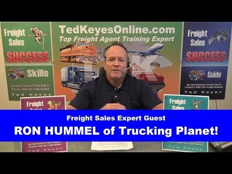 [TKO] ♦ Live Interview - Freight Sales Expert Guest - RON HUMMEL ♦ TedKeyesOnline.com