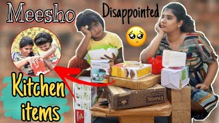 First Time!!😓Trying Out *Meesho* Kitchen Items *Disappointed*|| Is Worth👍👎The Hype?