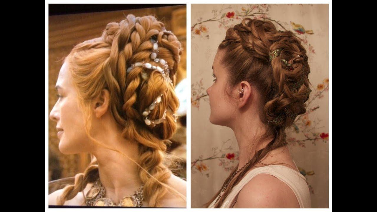 Cersei Lannister Inspired Purple Wedding Hair  YouTube