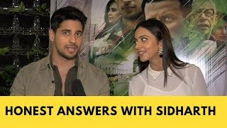 Honest Answers Ft. Sidharth Malhotra And Rakul Preet For Aiyaary | Exclusive Interview | Pop Diaries