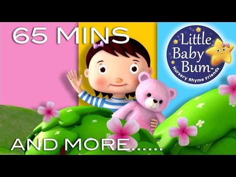 Teddy Bear Teddy Bear | Plus Lots More Nursery Rhymes | 65 Minutes Compilation from LittleBabyBum!