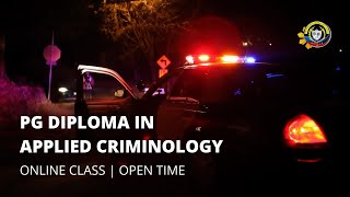 APPLIED CRIMINOLOGY (ONLINE CLASS)