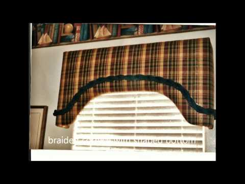 #Cornices,Lambrequins by Window Coverings and Slipcovers by Rosa LLC  Litchfield Park AZ