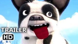 RACETIME Official Trailer (2018) Animated Snow Dog Movie HD