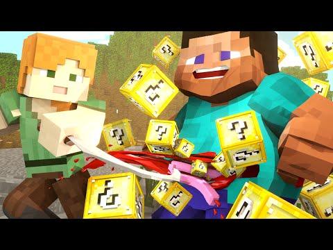 Minecraft   MODDED HUNGER GAMES - Lucky Blocks Mod! (Only Using Lucky Blocks)